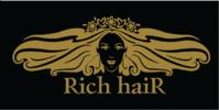 """Салон красоты """"Rich haiR"""" логотип"""